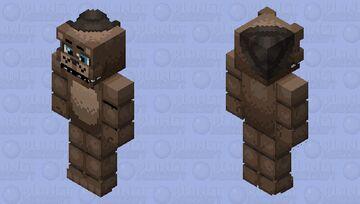 Help wanted freddy Minecraft Skin