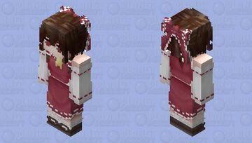 Reimu Fumo - Touhou Project Minecraft Skin