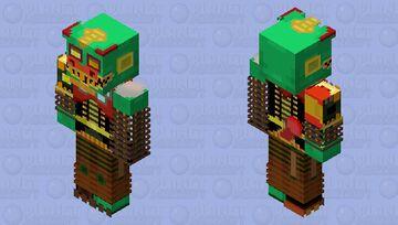 HD Serpent Mangle Minecraft Skin