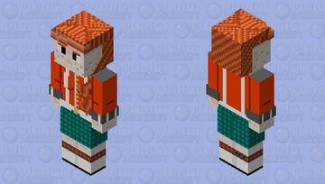 Frithua Islywn Uniform 128x128 OC Minecraft Skin