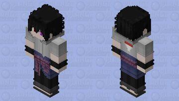 Sasuke Uchiha Rinnegan Supreme Minecraft Skin