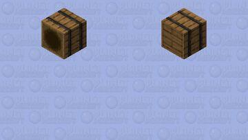 open barrel Minecraft Skin