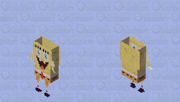 Bob esponja Nick ALL star Minecraft Skin