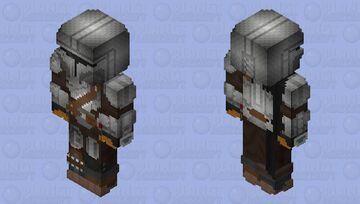 """The Mandalorian"" Din Djarin (The Art of the Rising Phoenix): The Mandalorian Season 2 Minecraft Skin"