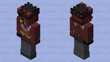 MNAF Senary Saloon- Outlaw Foxy Minecraft Skin