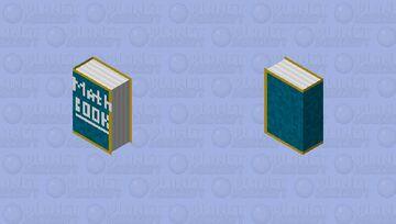 math book Minecraft Skin