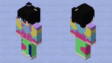 90's Style Akunin Minecraft Skin