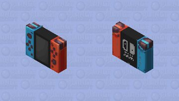 Nintendo Switch Minecraft Skin