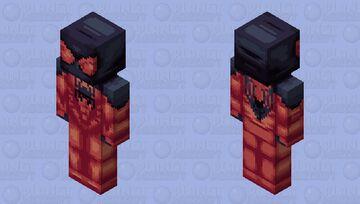 Scarlet Spider (Kaine Parker) Minecraft Skin