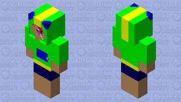 LEON brawl stars-minecraft skin Minecraft Skin