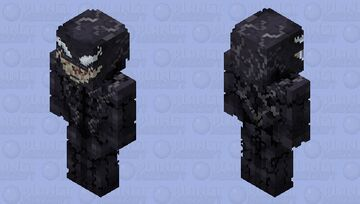 Venom (2018 Movie) | HD Edition Minecraft Skin