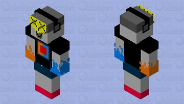 G4M3-B0T 360 DEADFIRE-WATER Minecraft Skin
