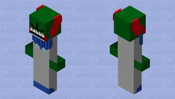 tricky fnf Minecraft Skin