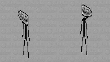 Troll Face 3.0 Minecraft Skin