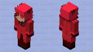 "Coming to my world | ventriloquist doll ""Alastor"" Minecraft Skin"