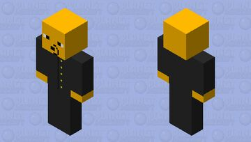 whinie the pooh in a suit Minecraft Skin