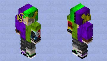 Torn mask #2 Minecraft Skin