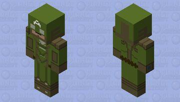 Captain America (comics-secret empire) Minecraft Skin