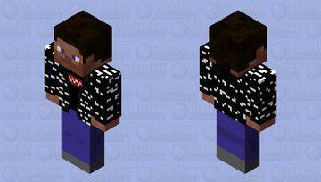 Bedrock Steve Drip Minecraft Skin