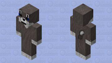 Brown Wolf Minecraft Skin