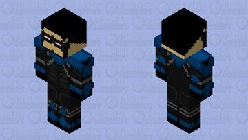 Future State Nightwing(Dick Grayson) Minecraft Skin