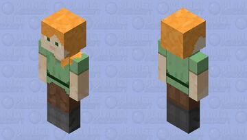 Alex HD Bedrock ⛏ Minecraft Skin