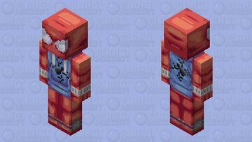 Scarlet Spider (Ben Reilly) Minecraft Skin