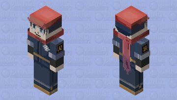 Male Trainer - Pokemon Legends Arceus Minecraft Skin