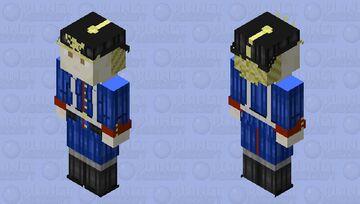 Frieda Radosława Uniform 128x128 OC Minecraft Skin