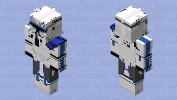 Star Wars The Clone Wars Clone Commander Rex HD Skin Minecraft Skin