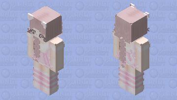 Pink Neko HD Minecraft Skin