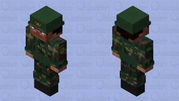 PAVN KO7 Camouflage Skin Minecraft Skin