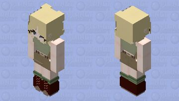 Android 18 (Launch Outfit) Minecraft Skin