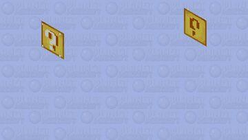 Lucky Block 2D Minecraft Skin