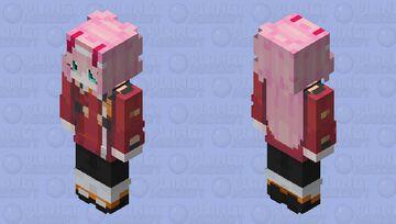 Zero Two v2 | DitF Minecraft Skin