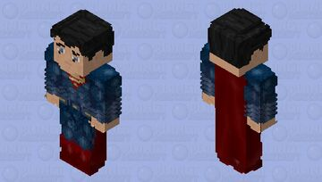 Superman: Batman V Superman: Dawn of Justice Minecraft Skin