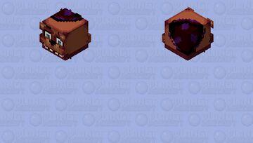 Freddy faze bear's  Mask Minecraft Skin