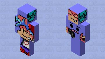 Boyfriend fnf/Diegoshane Minecraft Skin