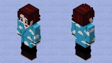 Tanjiro seleção final hd Minecraft Skin