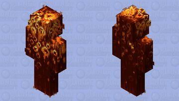 Honeycomb Hermit Minecraft Skin