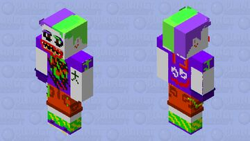 Me Joker PSYCHED OUT & CRAZy EDITION Minecraft Skin