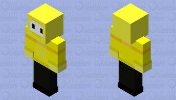 CC yellow boss HD (for bedrock) Minecraft Skin