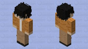 BTS Taehyung Casual Autumn-Like Outfit Minecraft Skin