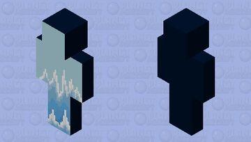 Ice Biome Pixel Art - SO! Minecraft Skin