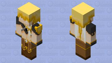 Aether(genshin impact) Minecraft Skin