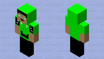 Frog hoodie! Minecraft Skin