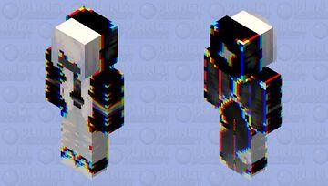 Glitched Mask Girl Minecraft Skin