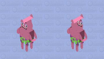 patrick Nick ALL star Minecraft Skin