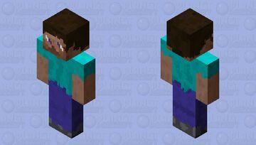 (512x) Cristalized Steve Minecraft Skin