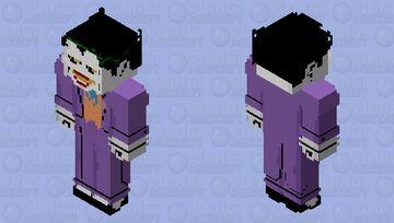 Joker: Batman: The Animated Series Minecraft Skin